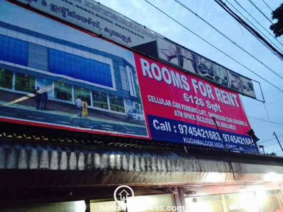 Commercial Building for Rent in Kottayam, Kottayam, Kudamaloor