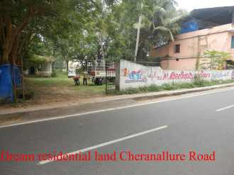 Residential Land for Sale in Ernakulam, Ernakulam town, Cheranalloor, Cheranalloor Road