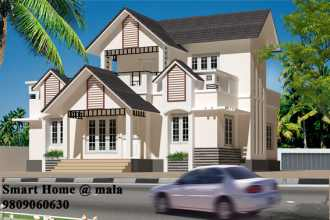 Residential House/Villa for Sale in Thrissur, Mala, Mala Town