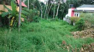 Residential Land for Sale in Kottayam, Changanassery, Thengana, Poovathumood juction