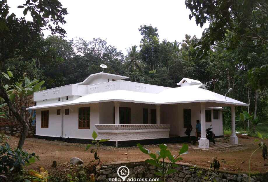 Residential house villa for sale in kilivayal adoor for Residential architectural plans for sale