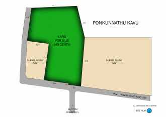 Residential Land for Sale in Kottayam, Kottayam, Mariyapalli
