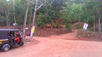 Commercial Land for Sale in Thrissur, Thrissur, Thirur, Poomala Road, near poomala dam